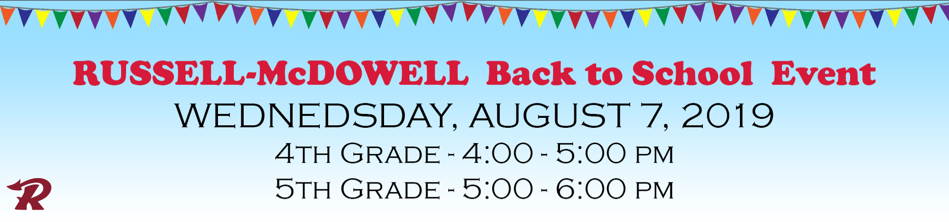 RMIS Back to School August 7, 2019
