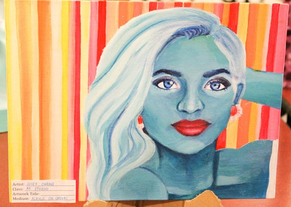 2017 RHS Art Exhibition featuring work from 112 students