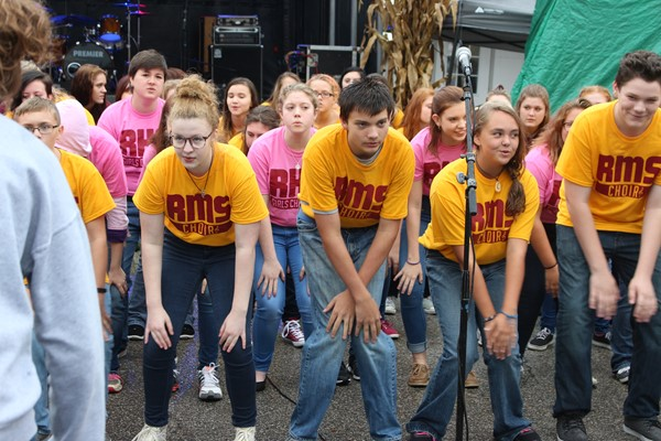 Choir at Greenup Old Fashion Days
