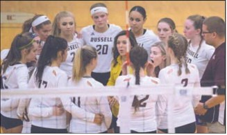 Coach Perry and RHS Volleyball