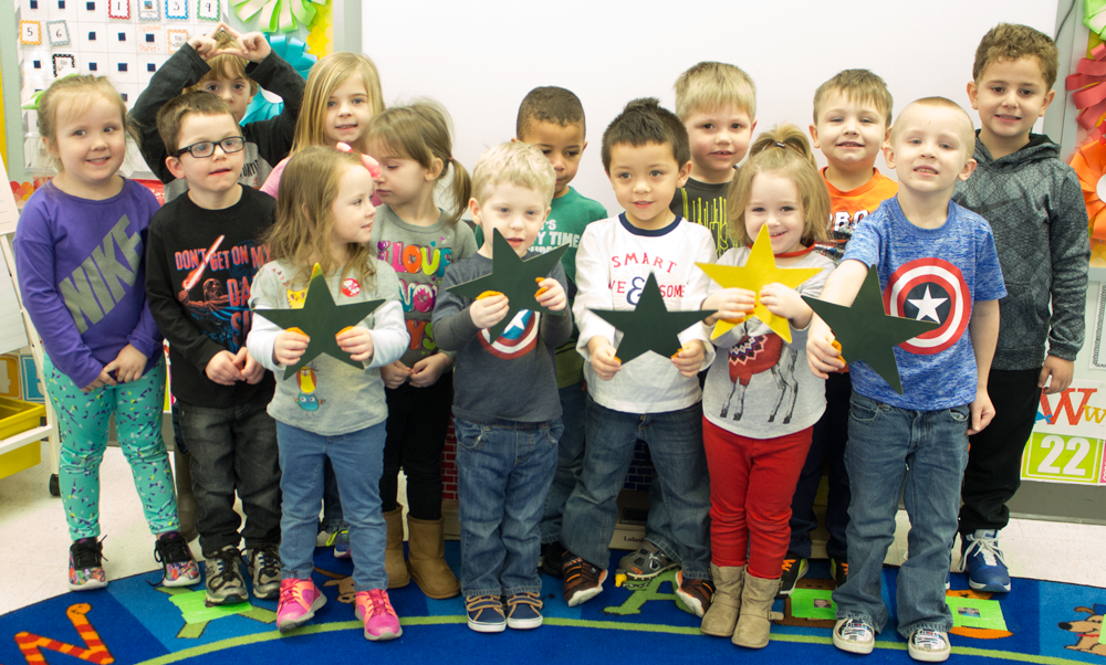 Russell Preschool students.
