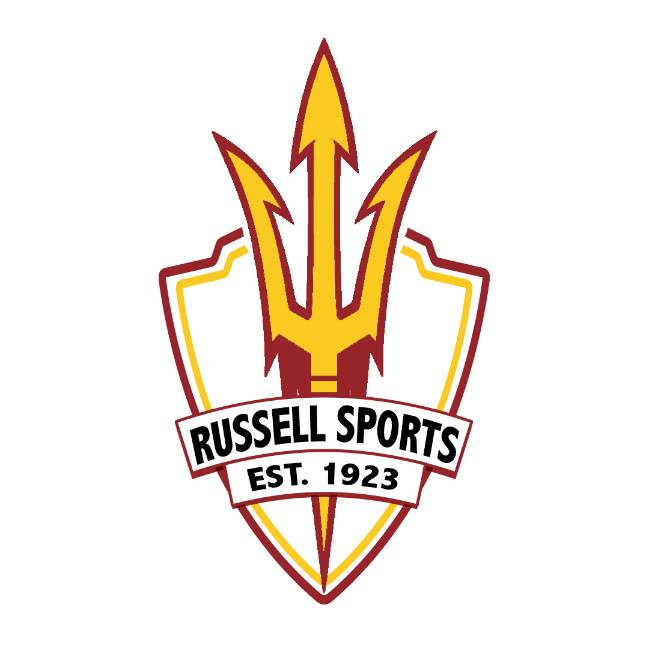 russell sports logo