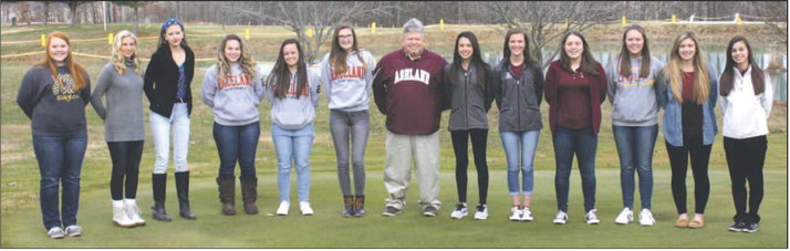 all area girls golf