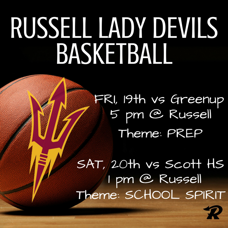 Lady Devils Basketball Weekend Schedule
