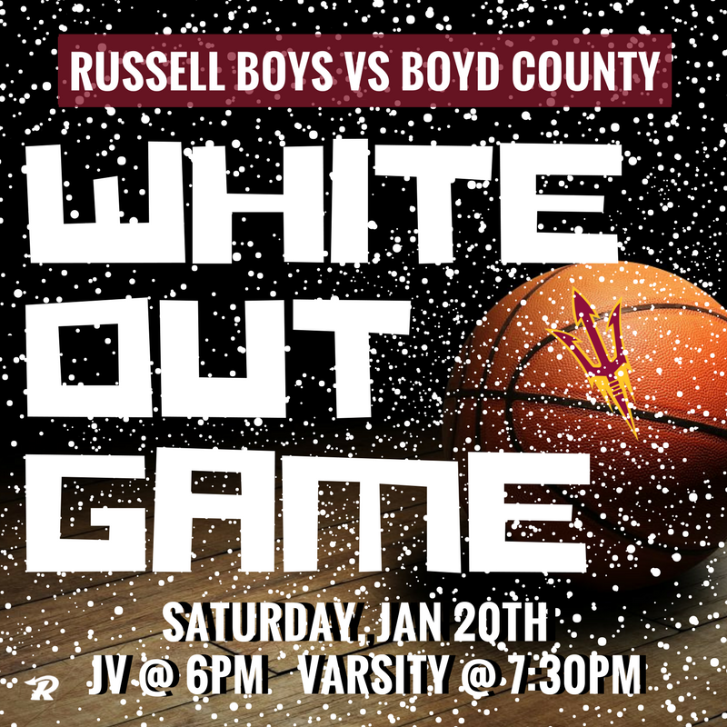 Boys Basketball WHITE OUT