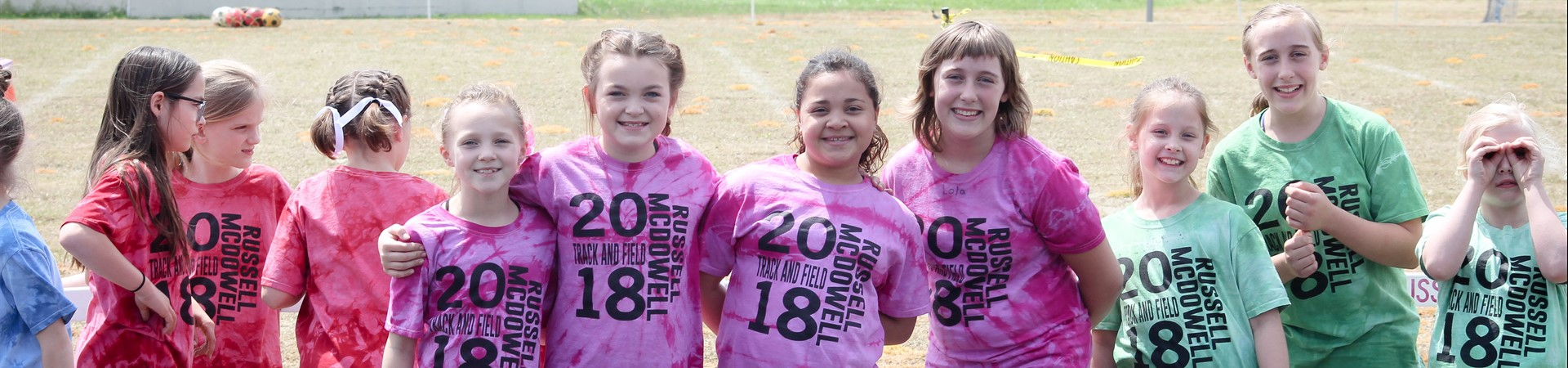 3rd Graders at Track & Field
