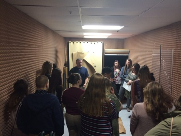 Criminal Justice Field Trip to KSP Forensic Lab