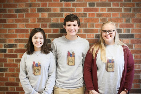 The Easy Grocery: Melanie O'Neal, Kaleb Mokas, Bethany Bloss