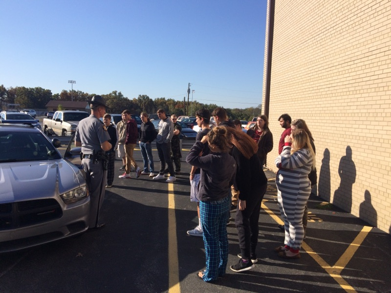 Mr. Gollihue's Criminal Justice classes experience Police Week!